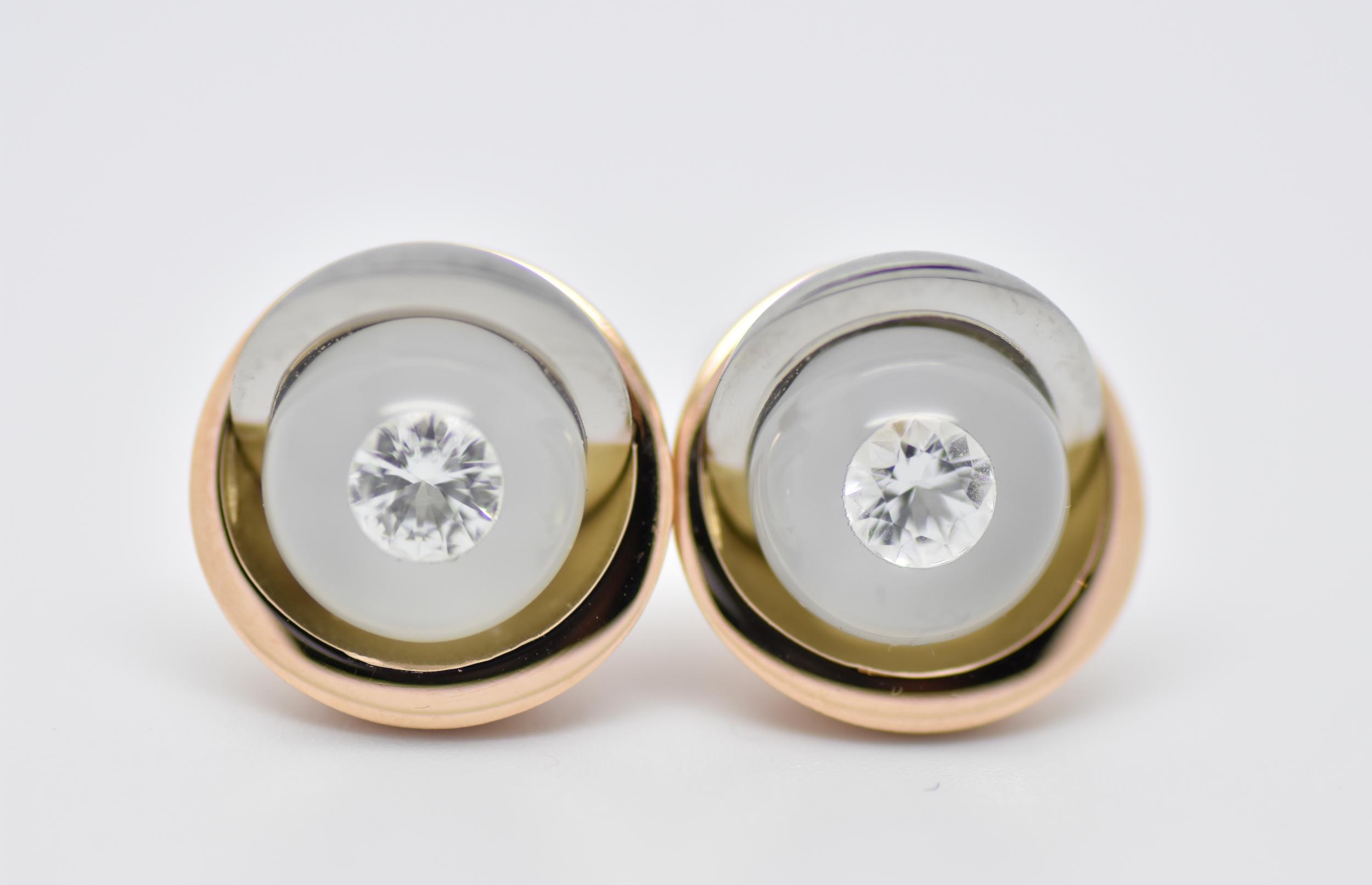 Boutons d\'oreilles bourgeons rosé édition spéciale