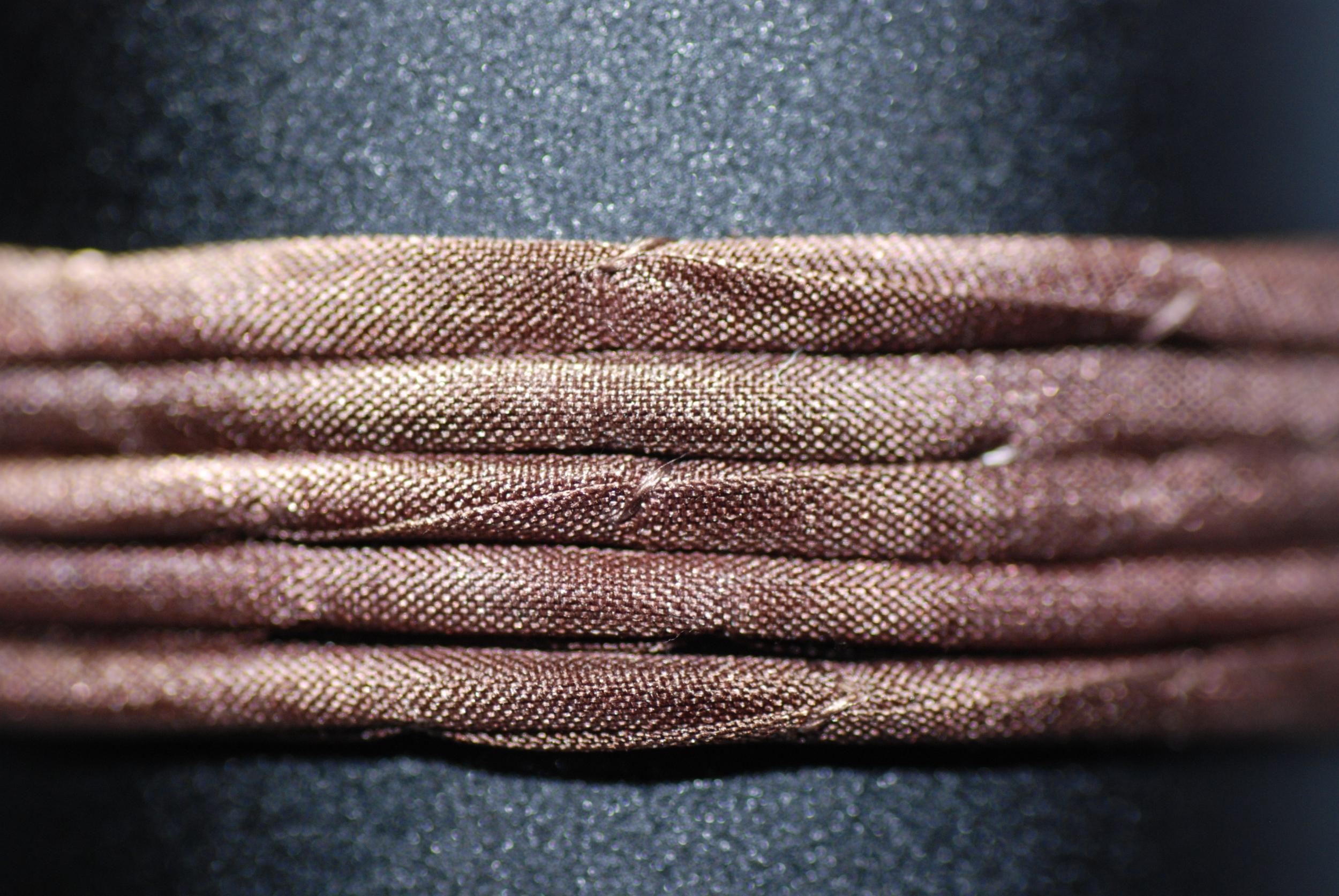 Cordon de soie Ibiza couleur Chocolat