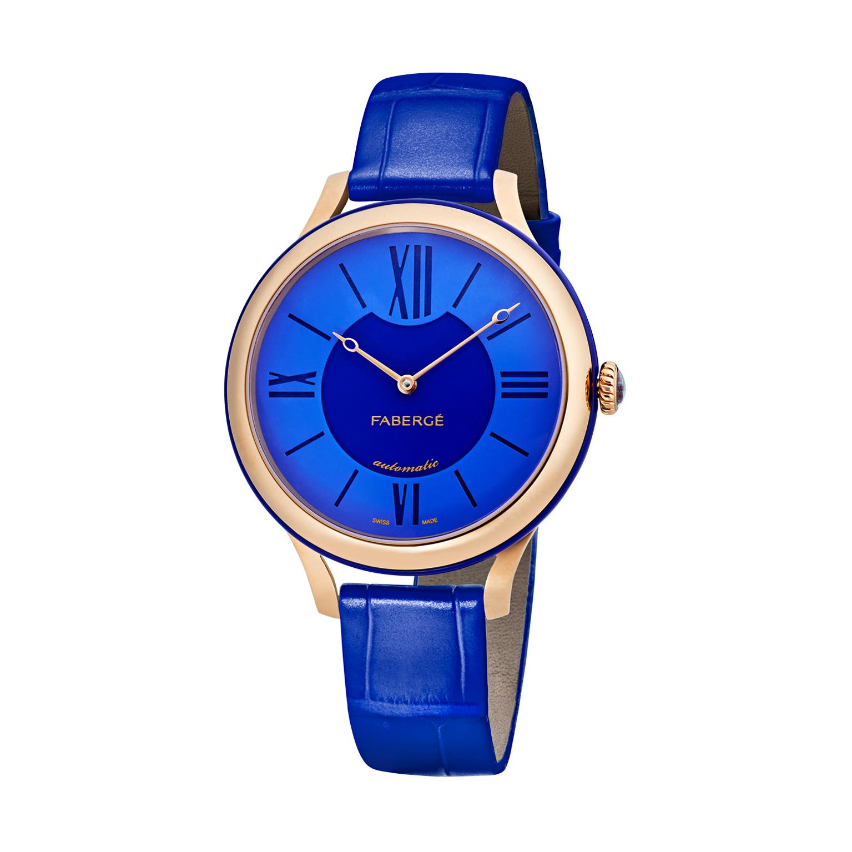 Montre Fabergé Flirt bleu 36 mm