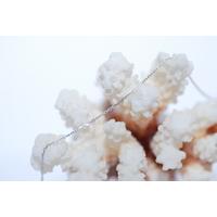 Chaîne Or Blanc 18 cartas 45 cm