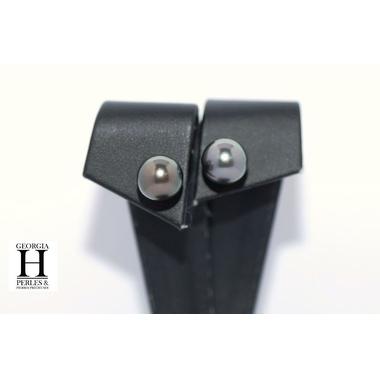 Boucles doreilles boutons et perles de tahiti  (4)