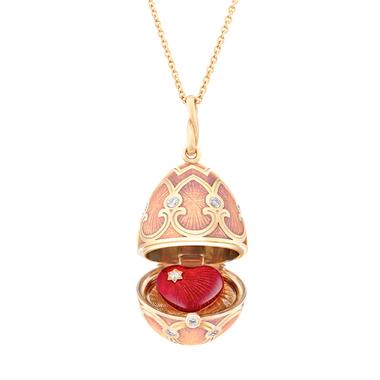 01. Fabergé Palais Tsarskoye Selo Rose Heart Locket 1151FP2131