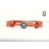 Bracelet Marrakech rouille avec une perle de tahiti (2)