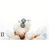 Boucles doreilles Boutons perles de tahiti (3)
