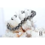 Bracelet Princesse  perles de tahiti Pinky Almond Green (4)