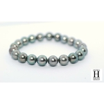 Bracelet Princesse perles de tahiti Almond Green (4)