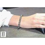 Bracelet Princesse perles de tahiti Almond Green (5)