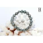 Bracelet Princesse perles de tahiti Almond Green (6)