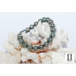 Bracelet Princesse perles de tahiti Almond Green (7)