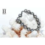 Bracelet Princesse perles de tahiti Almond Green (2)