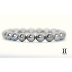 Bracelet Princesse perles de tahiti Almond Green (3)