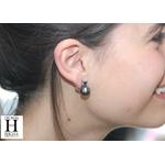 Boucles doreilles saphirs bleu et perles de tahiti bleu vert jungle (4)