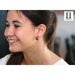 Boucles doreilles Solitaires rubis et perles de tahiti (3)