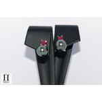 Boucles doreilles Solitaires rubis et perles de tahiti (7)