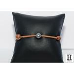 Bracelet Marrakech naturel avec une perle de tahiti (11)