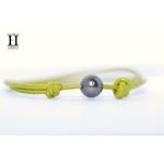 Bracelet Marrakech anis avec une perle de tahiti (3)