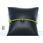 Bracelet Marrakech anis avec une perle de tahiti (5)