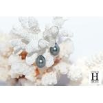 Boucles doreilles petits crochets or et perles de tahiti (6)