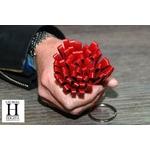 Ponpon Rouge et perle de tahiti  (7)