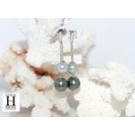 Boucles doreilles Toi et Moi perles de tahiti (2)