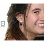 Pendants doreilles Coeurs en brillants et perles de tahiti (2)
