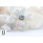 Bague Honeymoon saphirs et perles de tahiti (5)