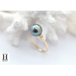 Bague Honeymoon saphirs et perles de tahiti (4)