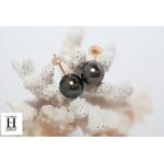 Boutons doreilles Boutons perles de tahiti (4)