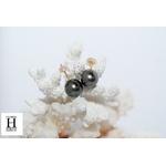Boutons d'oreilles Boutons perles de tahiti (5)