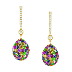 Emotion Multi-coloured Earrings
