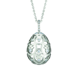 159FP984 Impératrice Diamond White Gold Pendant