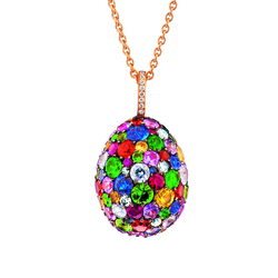 Fabergé Emotion Multi-coloured Pendant
