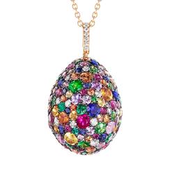 1.3 Fabergé Multi-coloured Emotion Pendant