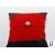 Bracelet manchette soie rouge et perle de tahiti (4)