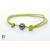 Bracelet Marrakech anis avec une perle de tahiti (4)