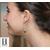 Boucles d'oreilles grands crochets et perles de tahiti (2)