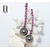Boucles d'oreilles Rubis et perles de tahiti (5)