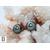 Pendants d'oreilles Coeurs en brillants et perles de tahiti