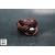 Bague noeud cuir aubergine et perle de tahiti (9)