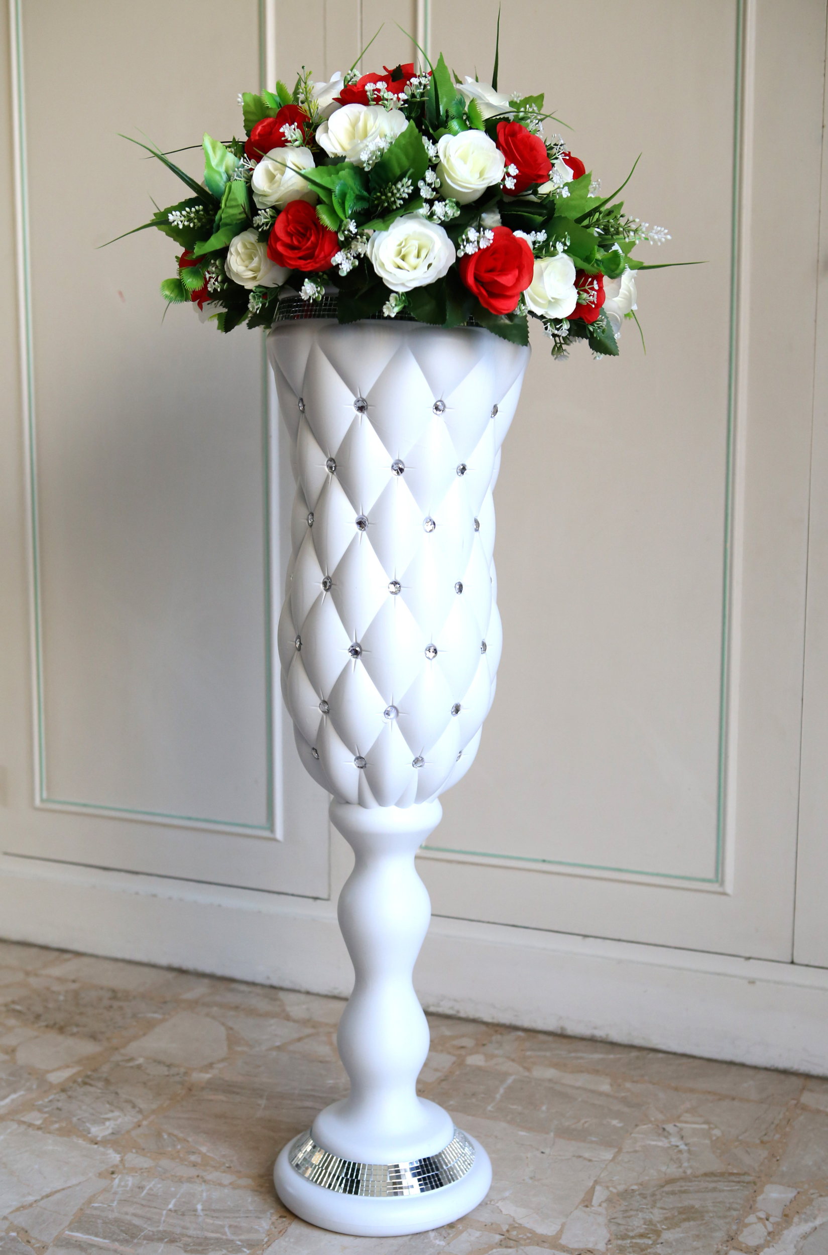Colonne décoration mariage support bouquet MCL1