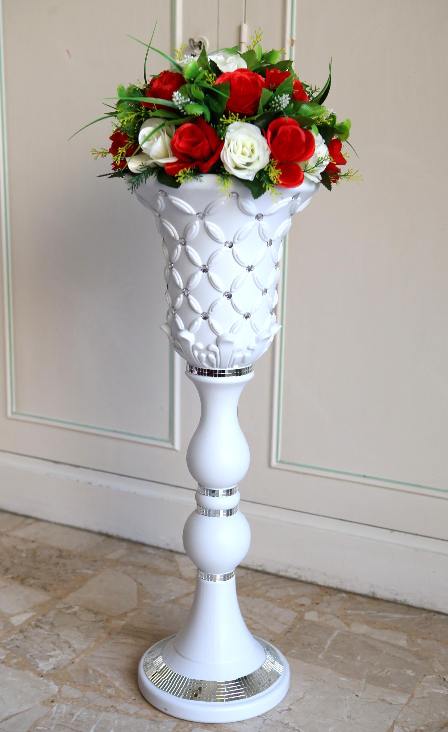 Colonne décoration mariage support bouquet MCL2