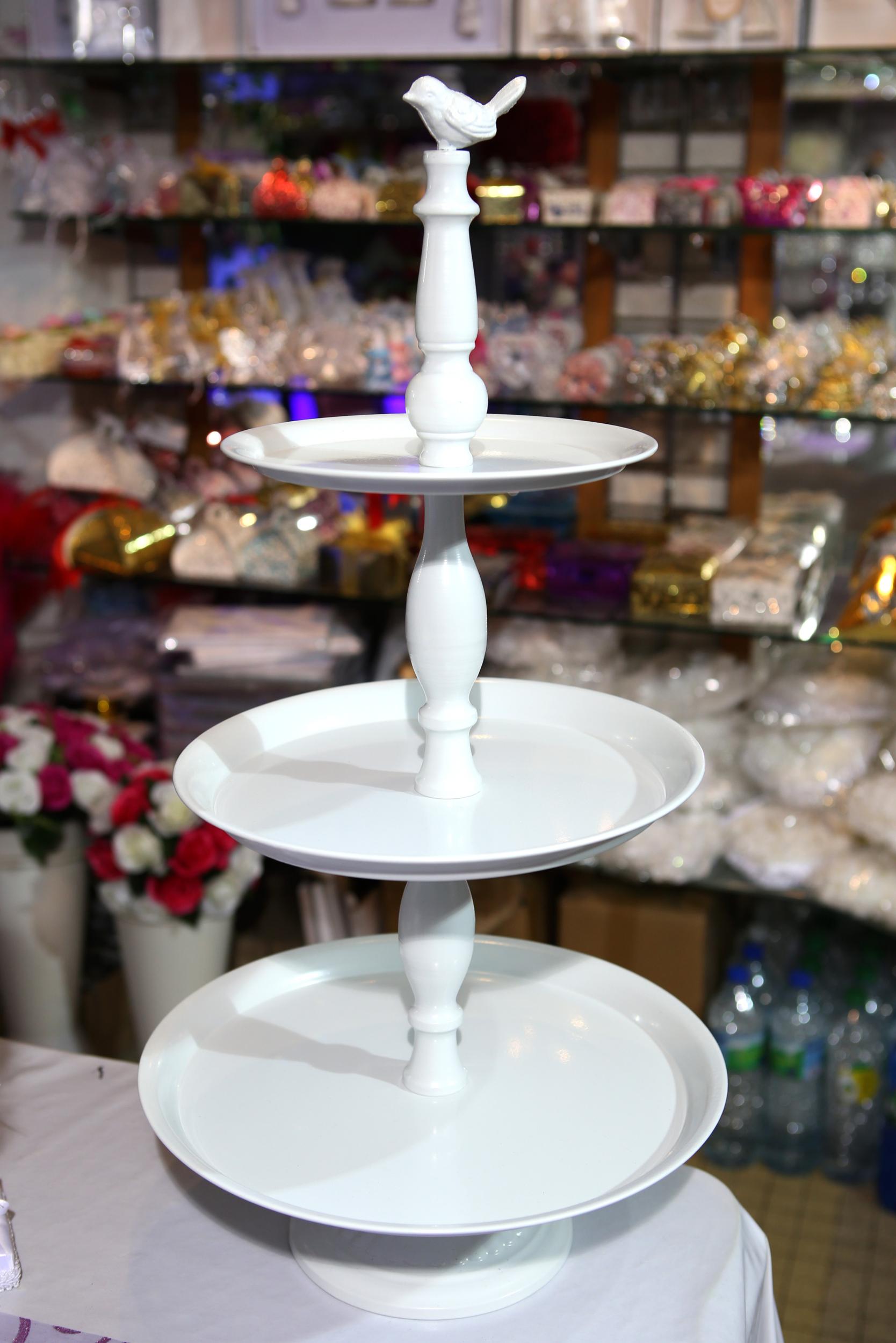 Présentoirs support à gâteau cupcakes petit oiseau mariage PGT5