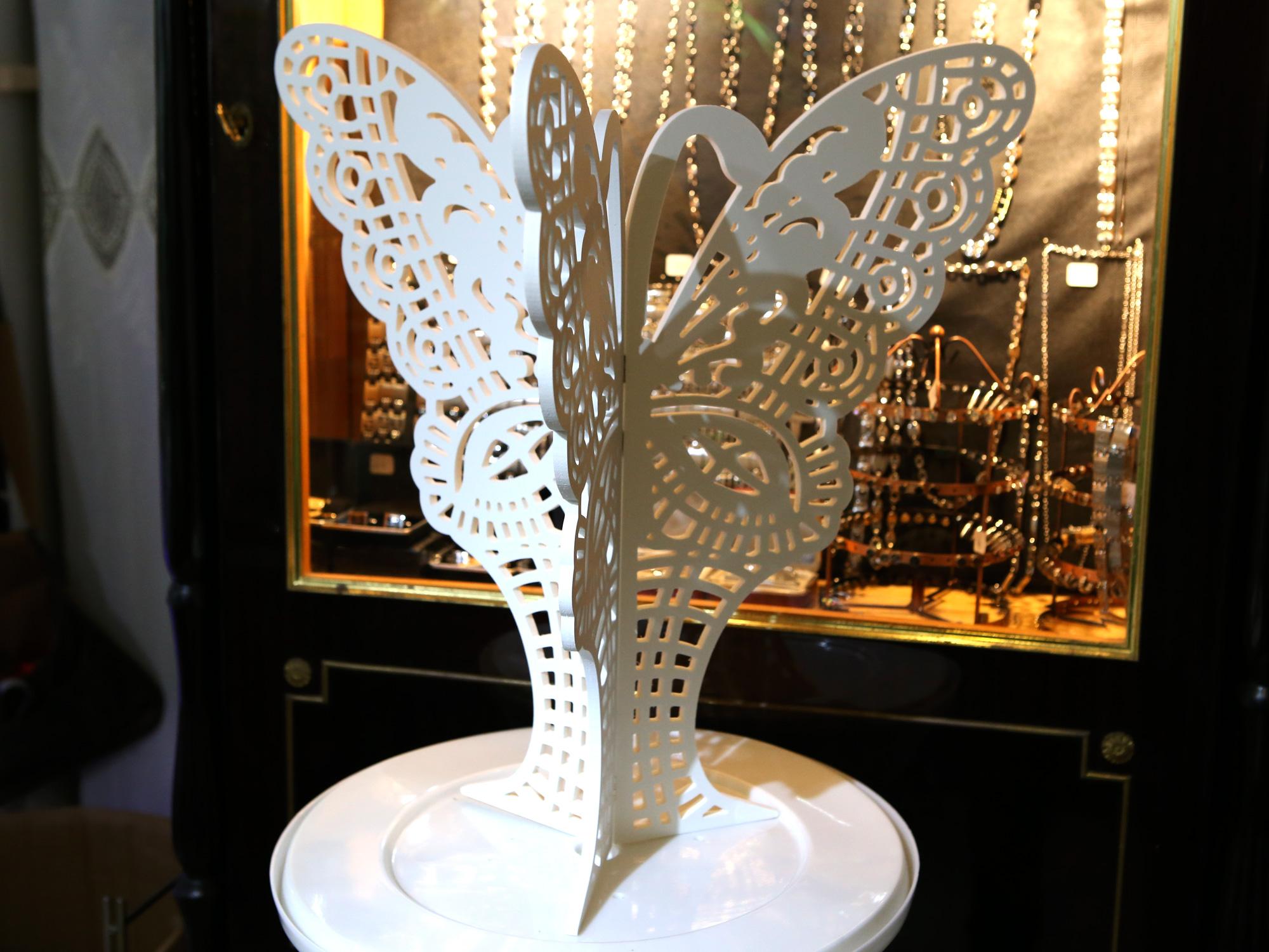 Papillon décoration table de urne mariage MDU2