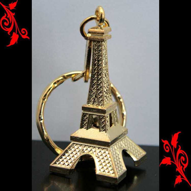 300 porte clés clef tour Eiffel souvenir de paris dore association TED300