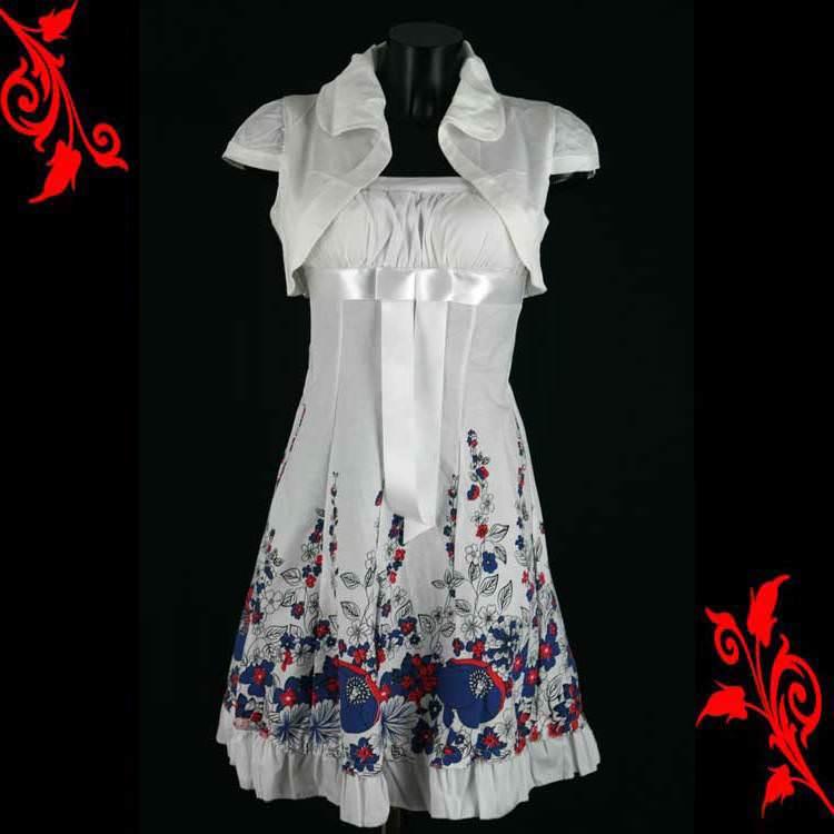 Ensemble bolero blanc + robe bustier dos nu push up sexy mariage soirée neuf T 36 38 40 42 VRB10 blanc