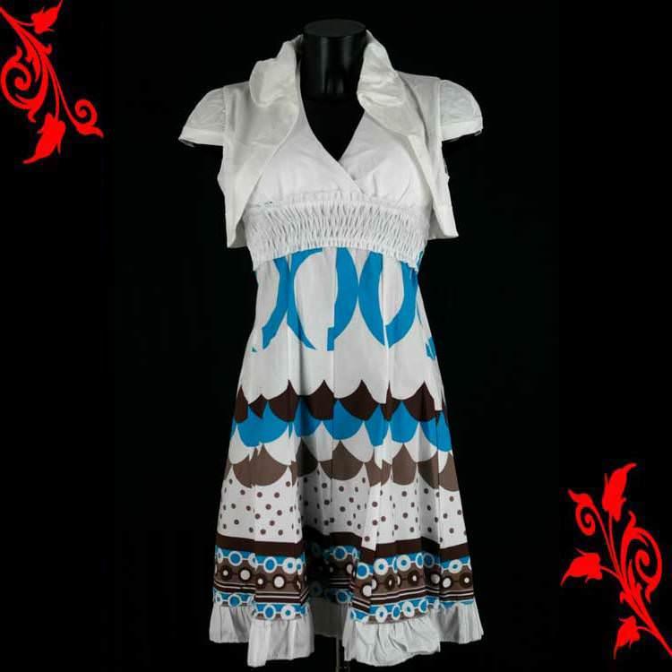 Ensemble bolero blanc + robe dos nu push up sexy mariage soirée neuf T 36 38 40 42 VRB5 blanc