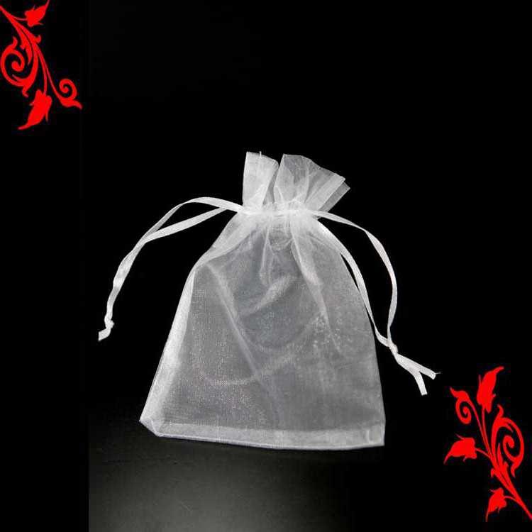 120 Sachet organza emballage à dragée mariage bapteme 10x15 blanc