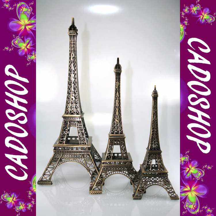 Lot de 3 Tour Eiffel collection souvenir de paris TE23-39