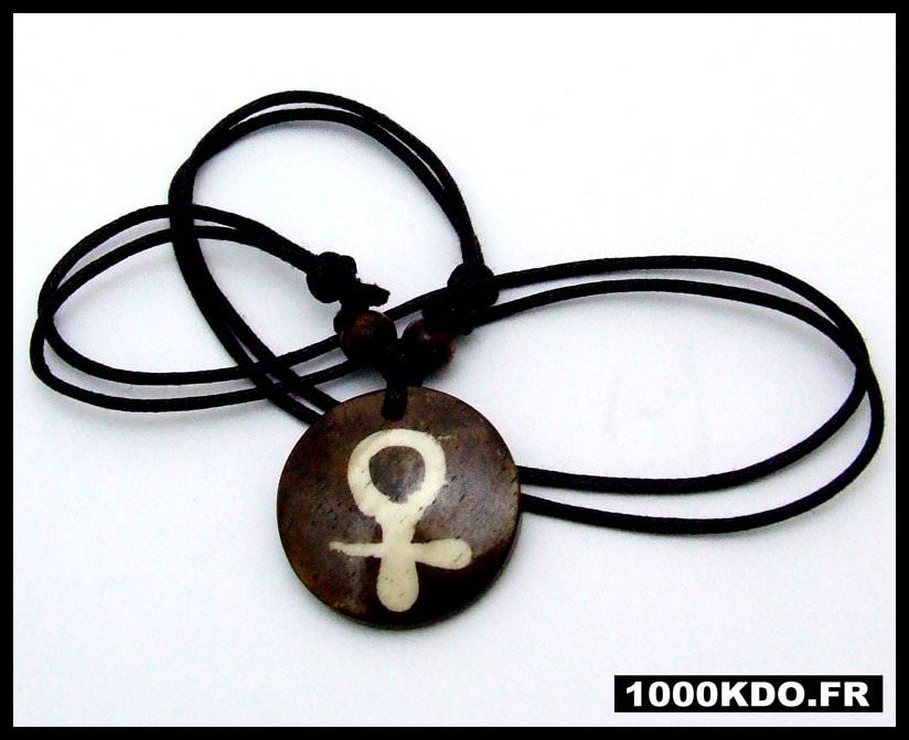 Collier Tibetain Tiber Nepal Symbole Femelle Neuf CT8