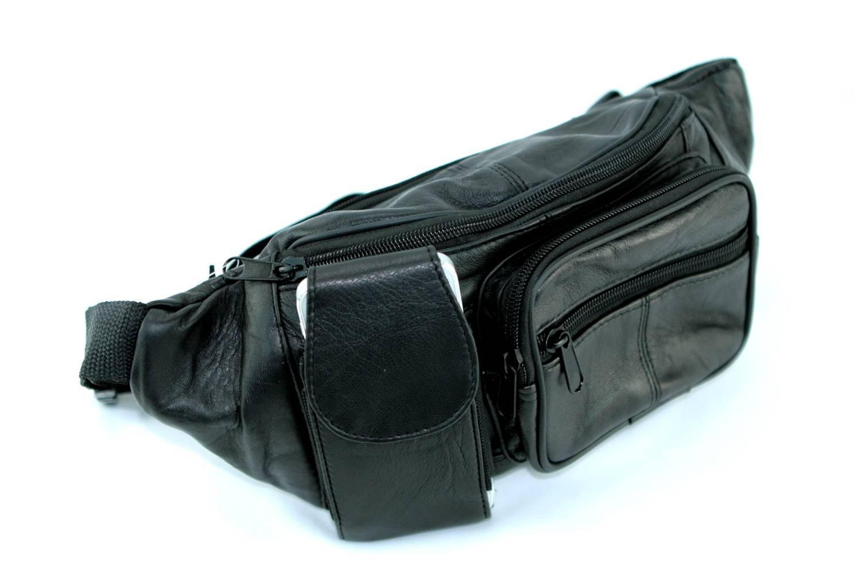 Sac banane sacoche à ceinture ajustable cuir agneau SB804